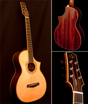 Parlor Cutaway Guitar