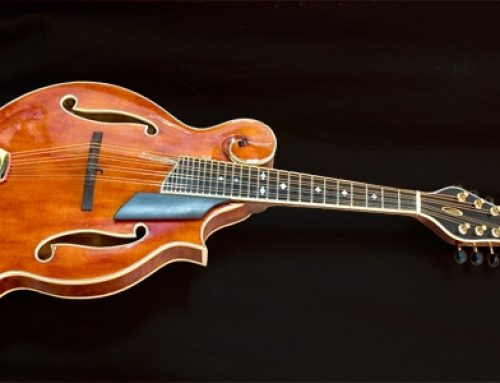 Florentine Mandolin for Dr. Richard Wing